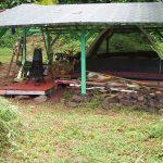 Campsite where Avocado Tent is today