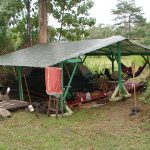 One of our early campsites at Hedonisia Hawaii