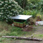 Hedonisia's first accommodation - Bamboo Hut!