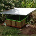 Bamboo Hut jungle eco accommodation at Hedonisia Hawaii