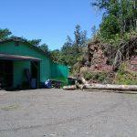 The barn on our Hawaiian property
