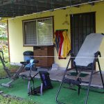 Jungle Cottage's old gym on the lanai