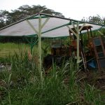 Turning a junk tractor into an accommodation in Hawaii