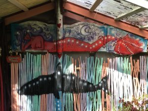 Guava Hale Shark Mermaid Mural