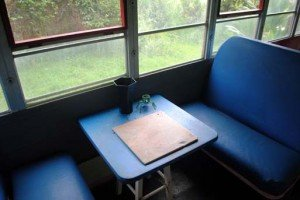 Small Table in Aloha Bus