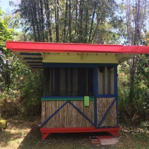 Bamboo Hut Bungalow Facade