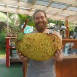 Craig with Jackfruit!