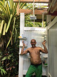 Solar Jungle Shower