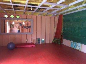 Candy Barn Yoga Room
