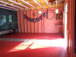 Yoga Candy Barn in Hawaii