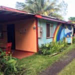 Rainbow Mural on Jungle Cottage