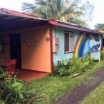 Rainbow Mural on Jungle Cottage