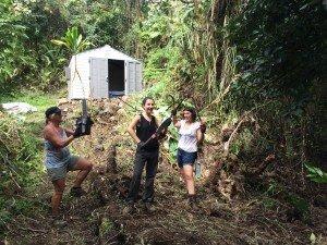 Eco-Feminist Community Volunteers in Hawaii!