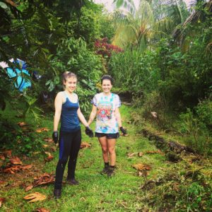 Women work in the jungles of Hawaii