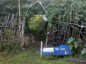 Bamboo-Pee-Garden
