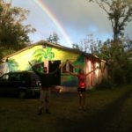 hawaii yoga barn work trade rainbow