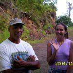 The people who lived across the street in our Hawaiian neighborhood