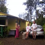Jungle Cottage and the family of the bride