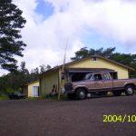 Mojo's old Ford F-150 at his barn in the Hawaiian jungle