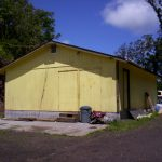 Our eco-community's Yoga Barn in its original form
