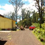 The driveway to our Hawaiian dream